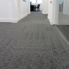 alfombra en rollo para oficina