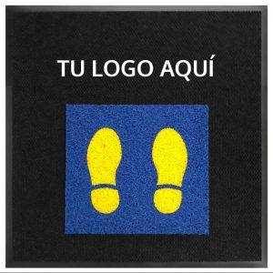 Tapetes Sanitizantes con Logo