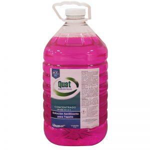 solución sanitizante Concentrada - Quat concentrate